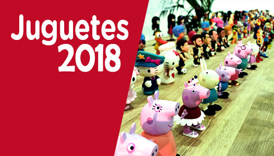catálogo de juguetes y figuras 2018