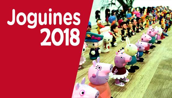 catàleg de joguines i figures 2018