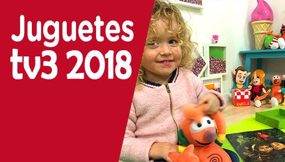 catálogo TV3 de juguetes y figuras 2018